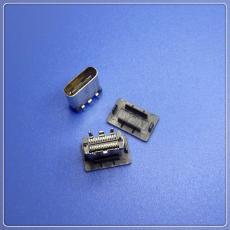 USB 3.1 Type-C母座立式貼片9.30mm帶膠塞