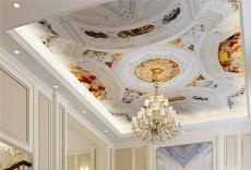 JCC天洋吊顶壁画 爱丽舍宫 不用胶水的宫廷
