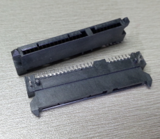SATA7加15臥貼式母座SATA22P連接器硬盤接口