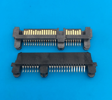 22p插座 硬盤接口 SATA接口 夾板22PSATA