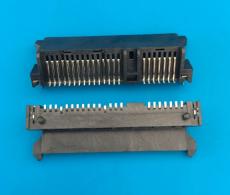 SATA7加15p母座 板下板上 高度9.1 貼片插腳