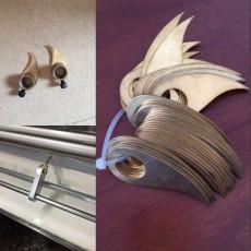 裱紙膠水機銅刮刀過膠機刀牙白膠機銅片刮鉤