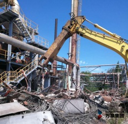 常州框架结构厂房拆除钢结构厂房拆除