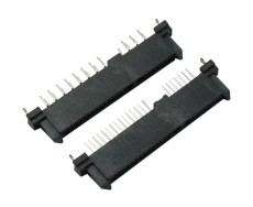 sata22PIN母座7加15PIN双排插针单排插针