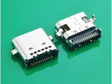 TYPE C 3.1母头沉板双SMT 24P USB3.1母座