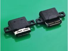供应TYPE C 3.1母头沉板防水款 USB3.1母座