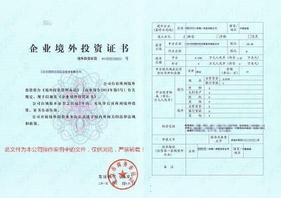 桂林境外投资备案新设与并购有什么区别