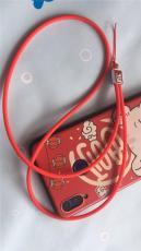 手腕硅胶挂绳 手机钥匙扣厂牌硅胶挂绳