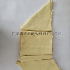 黄色机织布 芳纶编织布 短纤芳纶布