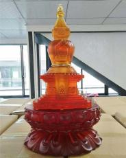 廣州琉璃舍利塔佛塔定制 大號大件琉璃佛塔
