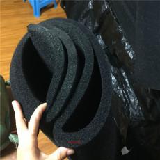 冷却塔活性炭海绵体防尘过滤棉加铝框定做
