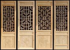 仿古門窗廠實木門窗定制與安裝