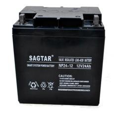 SAGTAR免维护蓄电池NP24-12 12V24AH尺寸