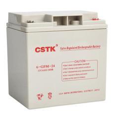 CSTK铅酸蓄电池6-GFM-24 12V24AH含税报价