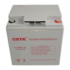CSTK蓄电池6-GFM-24 12V24AH参数规格