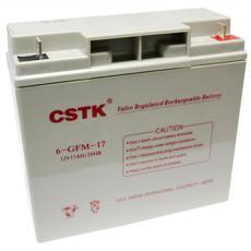 CSTK蓄电池6-GFM-33 12V33AH尺寸规格