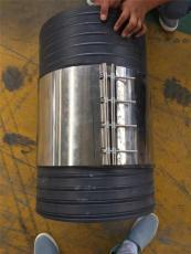 市政管道施工塑钢缠绕管用不锈钢卡箍