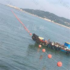水库养殖区域划分PE浮球 安全警示浮筒