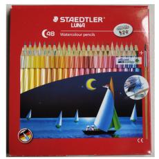施德楼13710C48水溶性彩色铅笔48色涂色套装