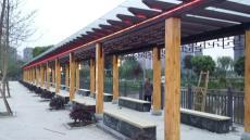 四川哪有做小青瓦長廊的仿古長廊亭子制作