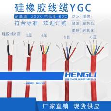 玻纤带绕包1.0mm2标称截面YGVP硅橡胶电缆