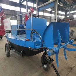 水沟革命草收割船 江西中小型自动割草船厂