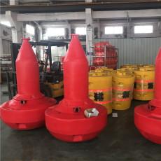水库养殖区警示浮标1.2米圆盘型聚乙烯航标