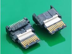 TYPE C 3.1USB母头无外壳垫高2.25 大电流