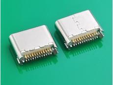 TYPE C 3.1母头 6.8mm长 夹板0.8SMT 镀金