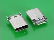 USB 3.1 C TYPE 母头夹板式USB3.1连接器
