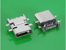 USB 3.1 C TYPE 母头沉板TYPE C母座 高低式