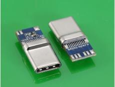 TYPE 3.0C公头 10.2带PCB板 拉伸外壳无缝