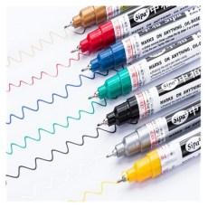中柏SP150油漆筆0.7MM極細針管油性筆輪胎筆