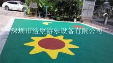 深圳幼儿园地胶EPDM橡胶地胶及橡胶地垫厂家