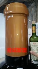 专业生产定制各种红酒瓶模型玻璃钢雕塑厂家