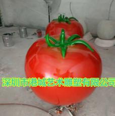 绍兴专用玻璃钢西红柿雕塑质量保证创新服务