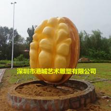 终于明白-南京仿真玻璃钢核桃雕塑生产厂家