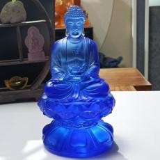 廣州琉璃佛像工藝品廠家 琉璃萬佛墻佛像廠