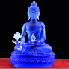 長春吉林寺廟琉璃佛像定制 寺廟萬佛墻佛像