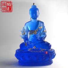 寺廟琉璃萬佛墻真琉璃藥師佛 上海琉璃佛像