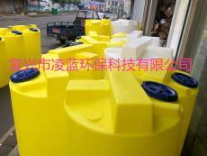 塑料水桶箱100L 200L 立式搅拌PE加药桶