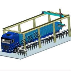 工業鹽機器人裝車機 自動裝卸車系統
