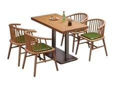 大型餐廳桌椅飯店快餐桌椅量身定制批發廠家