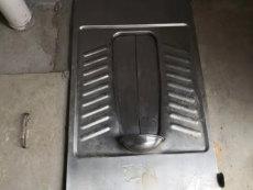 農村旱廁用不銹鋼蹲坑 帶蓋板 推拉開閉不銹