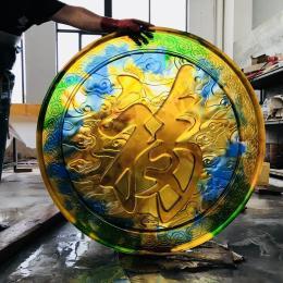 上海蘇州江蘇琉璃佛像定制 大件琉璃藥師佛