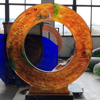 廣州大件琉璃雕塑雕像琉璃假山景觀工藝品