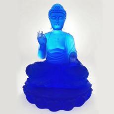 廣州大件琉璃工藝品 大號琉璃佛像 琉璃雕像