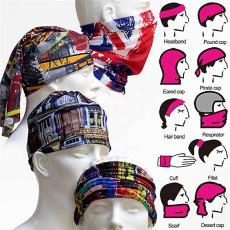 寧波景余針織帽子圍巾手套工廠印花頭帶頭巾