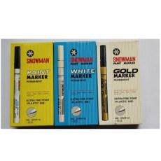 日本雪人极细油漆笔EFCP-12环保油漆笔0.5MM