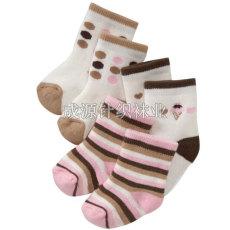 广东袜子厂儿童袜批发订做宝宝袜